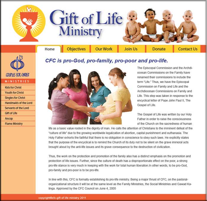 Fernando cortez cfc gift of life ministry website cfc gift of life ministry website negle Choice Image